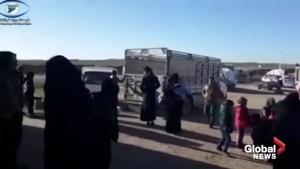 U.S. backed Kurdish-led Syrian Democratic Forces make gains in eastern Syria