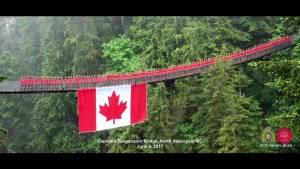 Behind-the-scenes look at RCMP's Capilano Suspension Bridge photo