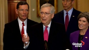 Mitch McConnell says it's 'premature' to make decision on releasing Mueller report