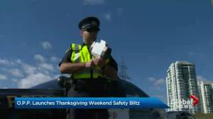 'Operation Impact' launched by police for Thanksgiving weekend