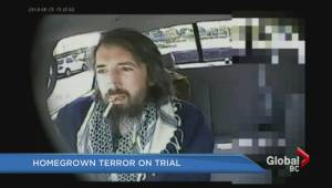 New video evidence in BC terror trial