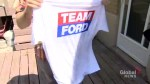 Toronto actor says he was paid to pose as Ford Nation supporter