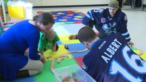 Better Winnipeg: Manitoba Moose team up with local autism program for children