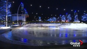 Kelowna's Stuart Park ice rink put on defrost