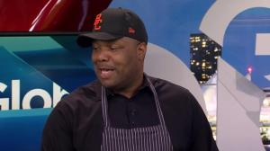 BC Lions head coach Devone Claybrooks cooks breakfast