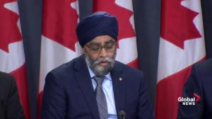 Sajjan says still more to be done to address sexual misconduct in Canadian Forces