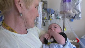 Everyday Hero Mary Grainger brings comfort to sick children with a warm embrace