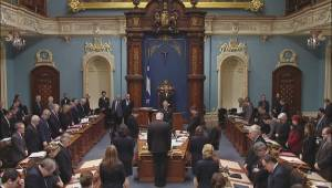 Quebec National Assembly observes moment of silence for Jean Béliveau