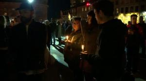 Candlelight vigil held for Gord Downie in his hometown of Kingston