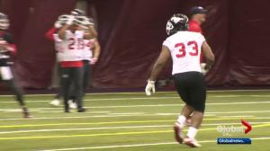 Grey Cup week all business for Calgary Stampeders