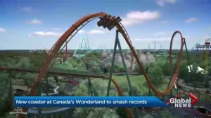 Canada's Wonderland unveils plans for record-breaking coaster in 2019
