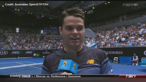 Canadian tennis star Milos Raonic dedicates win to La Loche