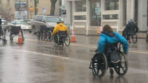 Annual Wheelchair Relay in Saskatoon raises awareness, funds for people with spinal cord injuries