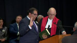 Calgary city council swearing-in ceremony