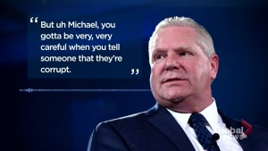 Ontario man releases audio of voicemail left by Premier Doug Ford