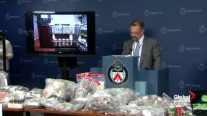 Toronto Police outline bylaw charges against marijuana dispensaries in massive city-wide crackdown