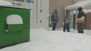 Lethbridge homeless man shares what winter is like on the streets