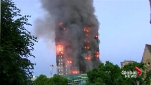 Police believe deadly London tower blaze sparked by fridge