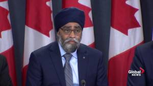 Sajjan says they knew there would be pilot shortage, won't say why there still is