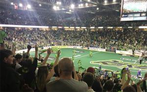Saskatchewan Rush take Game 1 of NLL final over Rochester Knighthawks