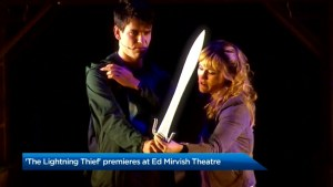 Percy Jackson musical hits the stage