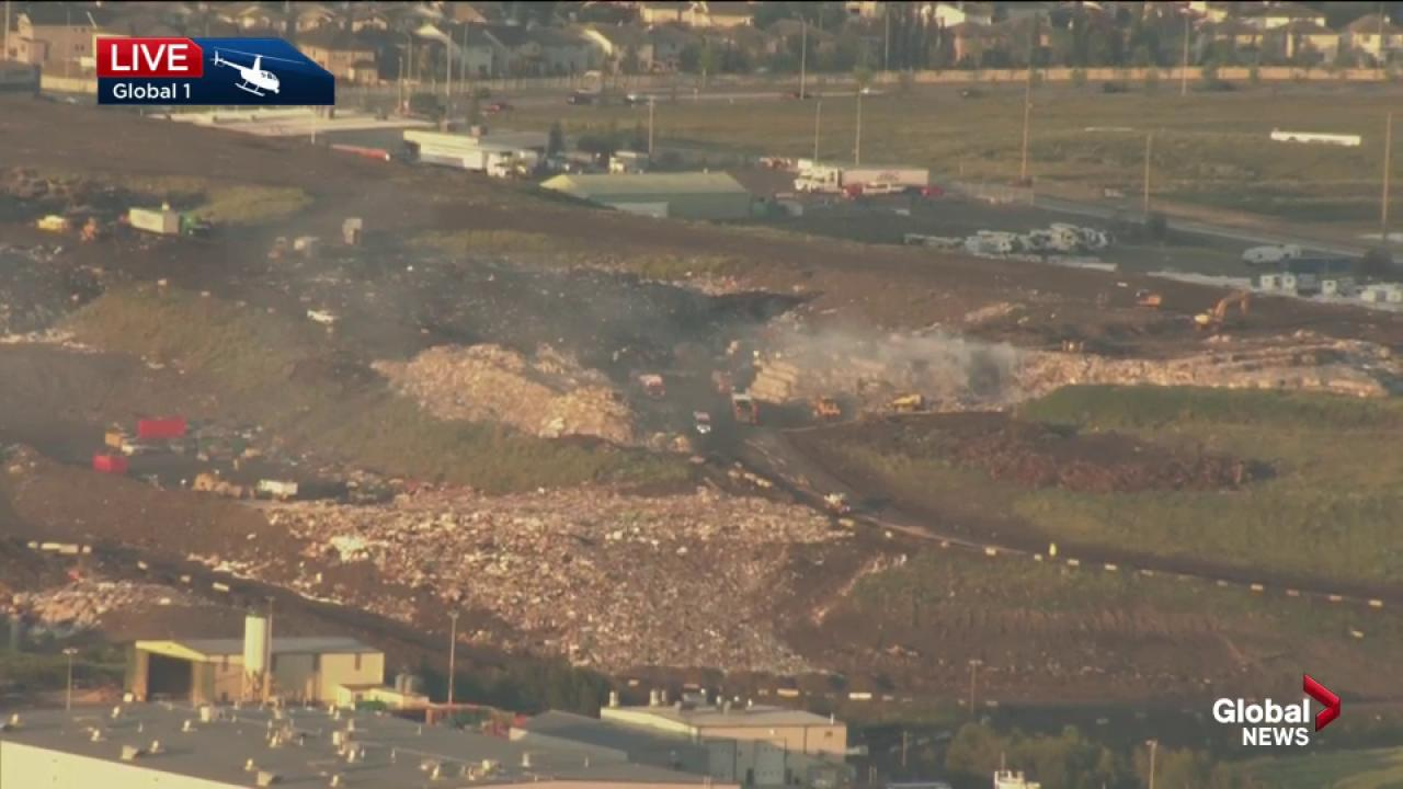 Fire at ECCO Recycling plant in Quarry Park