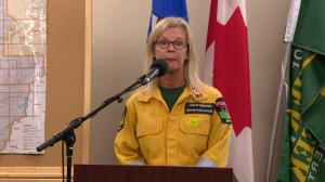 Alberta wildfire official talks about fire in Castle area