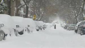 Winter storm dumps 36 cm of snow on Montreal
