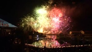 Japan rings in the New Year with fireworks