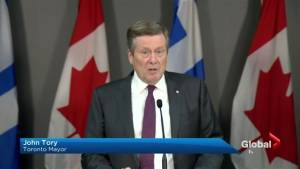 Mayor John Tory says plan to cut council in half 'not right'