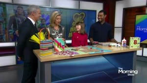 Using crafts to spread kindness