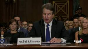 Kavanaugh on sex assault allegation: I am innocent of this charge