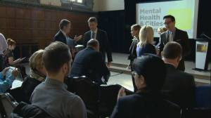Toronto hosts nation-wide summit to tackle mental health (02:19)