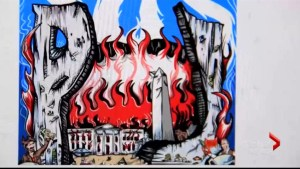 Pearl Jam poster depicting burning White House provokes backlash