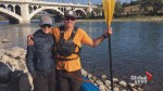 Olympic champion takes on 22-kilometre paddling challenge for MS awareness