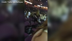 Video captures sound of explosion outside Manchester Arena