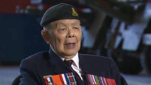'All my heroes are the guys we left behind': Army Veteran George Chow remembers Juno Beach