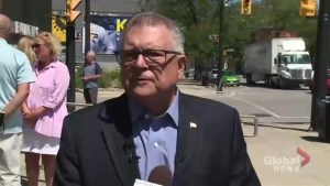 Goodale says Fredericton shooting investigation to be done by local police, RCMP to provide support