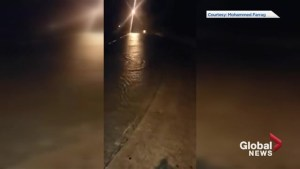 Texas streets flood as Hurricane Harvey batters coast