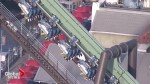 Roller coaster malfunction leaves riders hanging upside down for hours at Universal Studios in Japan
