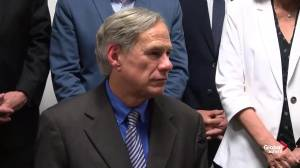 Texas Gov. Greg Abbott comments on Trump visit after El Paso shooting