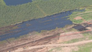 Cleanup continues of Alberta pipeline oil spill which went undetected by failsafe system