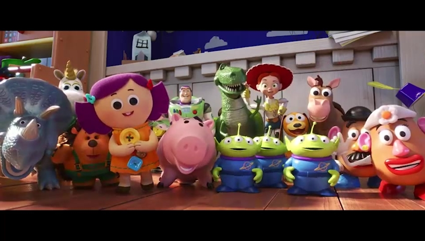 Woody and the gang reunite for new 'Toy Story 4' trailer