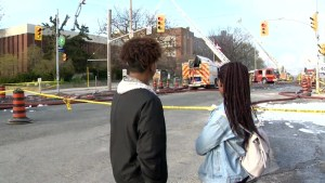 Toronto fire continues to battle fire at York Memorial C.I.