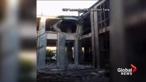Turkish politician records bombing on National Assembly during attempted coup
