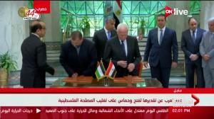 Hamas, Fatah reach reconciliation deal on Gaza