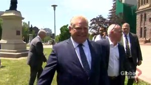 'Feels great for the people': Doug Ford speaks after being asked to form government by Lieutenant Governor