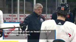 Todd McLellan out as Edmonton Oilers' head coach, Ken Hitchcock in