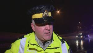 RCMP spokesperson warns drivers to be cautious following crash in Langley (01:24)