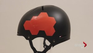 Former B.C. Lion promotes new helmet technology to prevent concussions